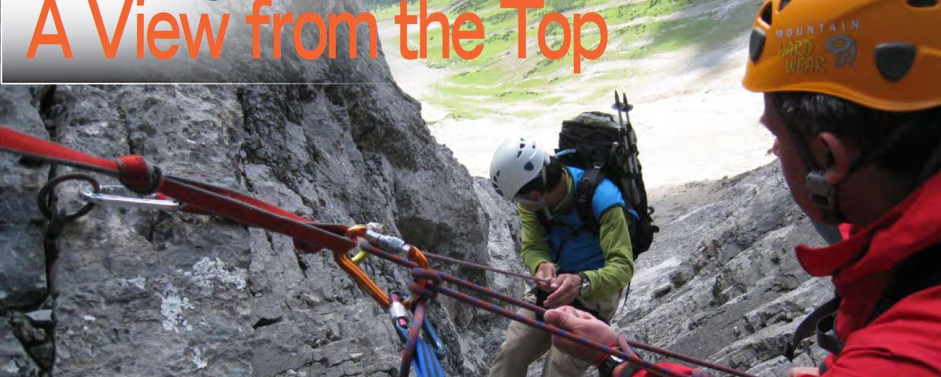 1. Rock Climbing on Mount Smuts