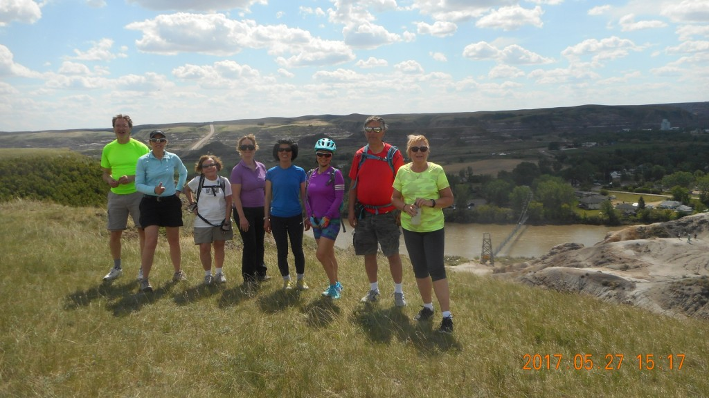 Feature Photo - AB Badlands 11 Bridges Cycle Trip May 2017