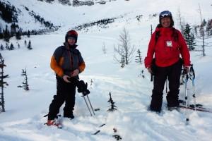 Backcountry Ski Pocaterra Cirque