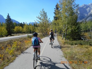 Bike Ride Bill Milne Trail