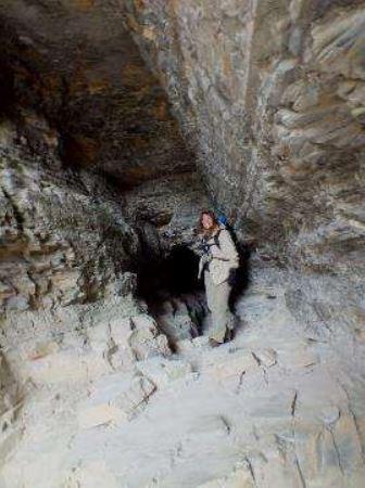 Crypt Lake Cavern Access