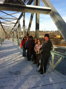 Bowness Urban Hike - Bridge on the River Bow