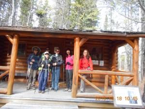 Forest Management Trail Hut