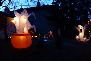 Garrison Woods Halloween Walk