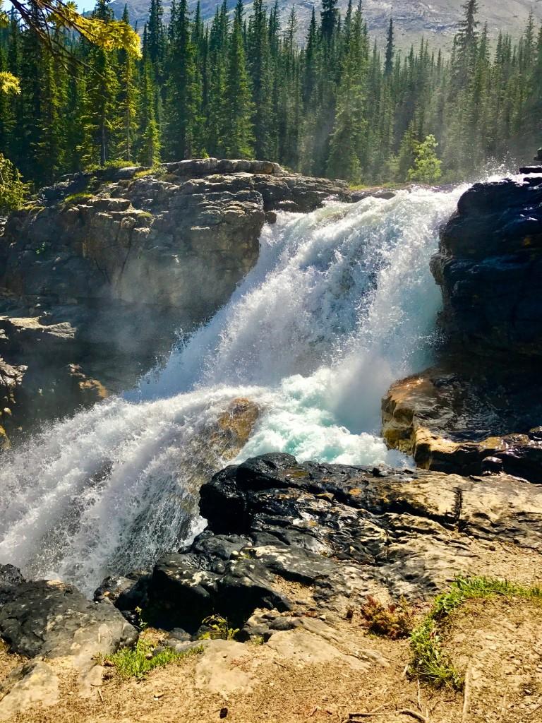 July 29 Twin Falls in Yoho