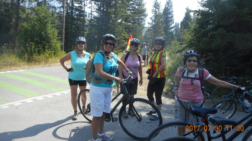 July 30 Legacy Trail Bikers