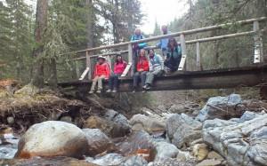 Lillian Lake Hike - New Galatea Bridge