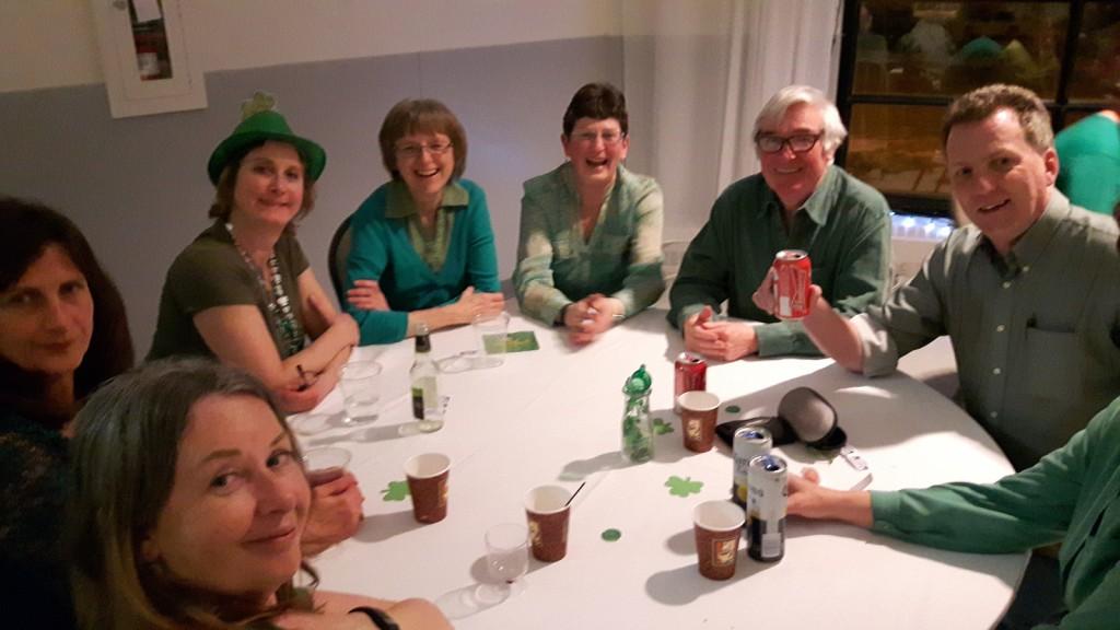 March 17 - St Patricks Eve Social