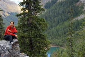 Relaxing Above Memorial Lakes