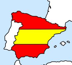 SpainMap&Flag